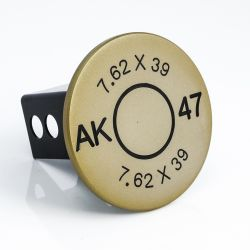 7.62 x 39 ammo bullet casing hitch cover - AMI Styling